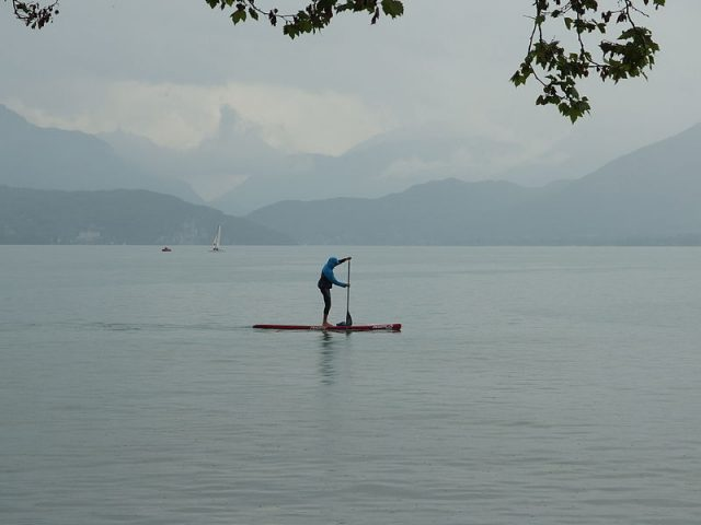 Stand-up paddleboarding is even more fun than it looks.   Photo Credit