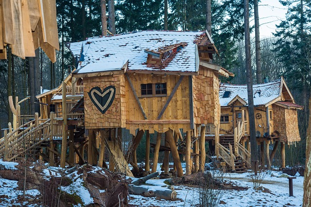 There's some amazing tree houses