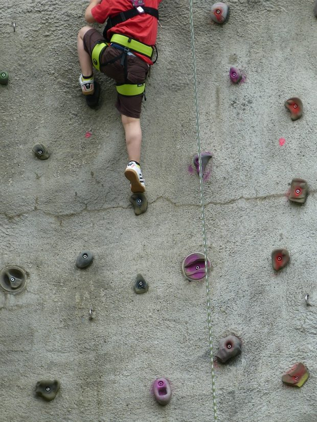 Climbing is becoming more and more popular