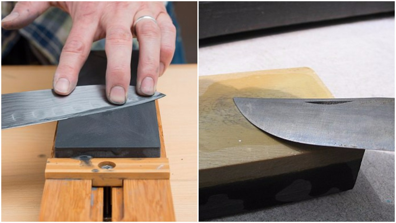 How to properly sharpen a knife