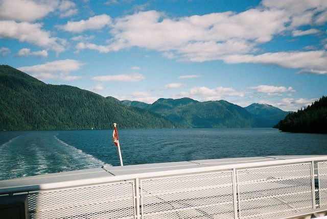 Traveling the Inside Passage aboard BC Ferries M/V Queen of Prince Rupert- Author: Heqs – CC SA 1.0