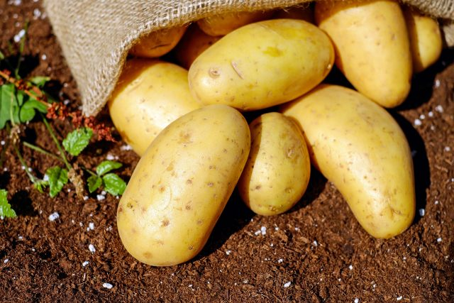 Potatoes are full with vitamin B6