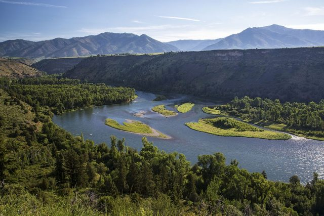South Fork of the Snake River in BLM Idaho – Author: Bureau of Land Management
