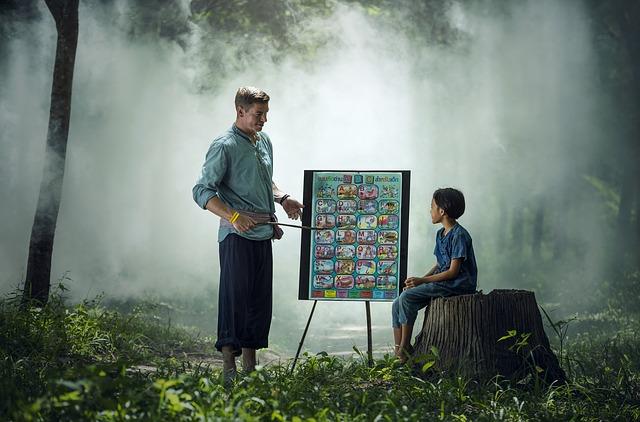 teach kids about nature