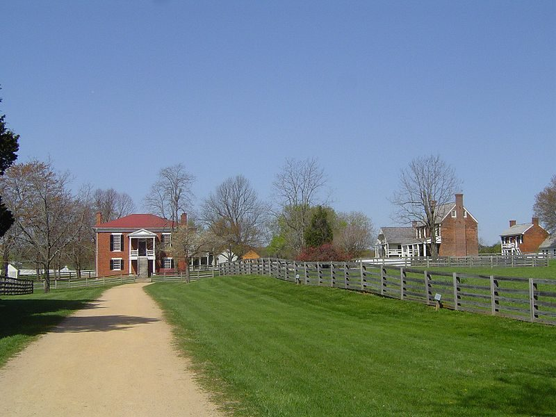Appomattox Court House Historical Park – Doug Coldwell – CC BY-SA 3.0