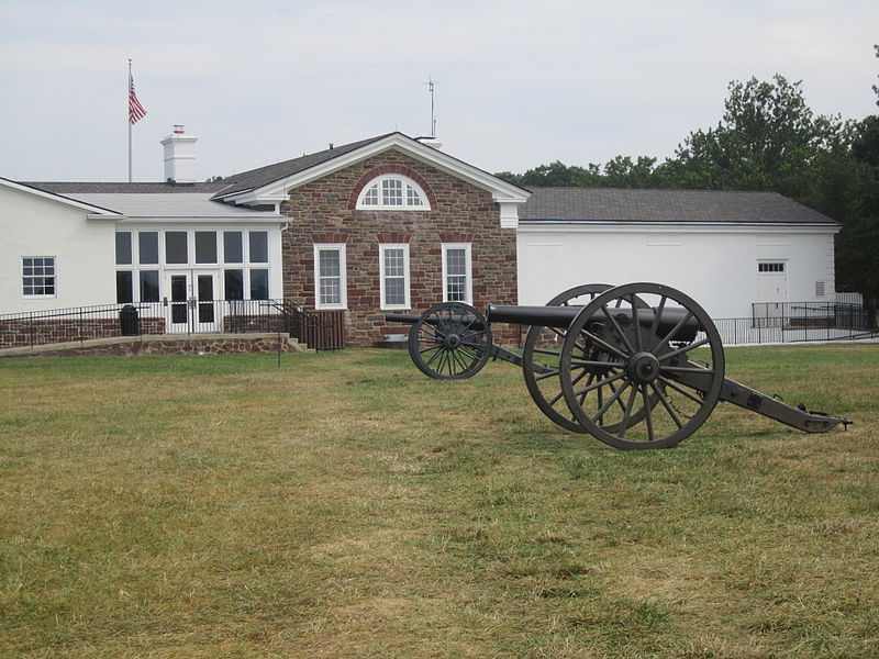 Cannon at Manassas Battlefield – Author: Billy Hathorn – CC BY 3.0