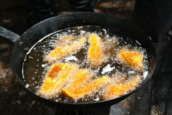 Cooking meat and fish is important for preventing food poisoning