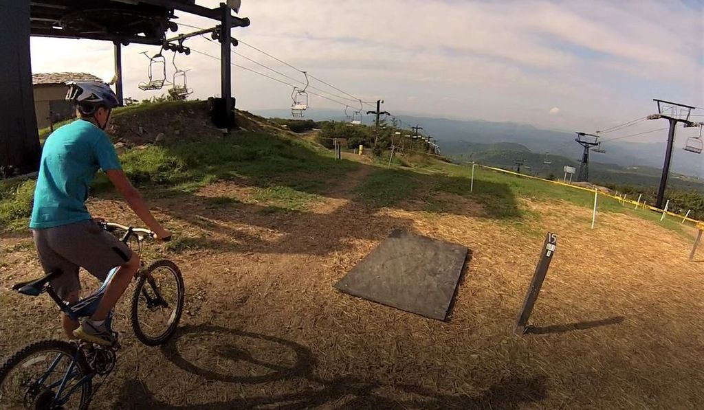 Beech Mountain downhill