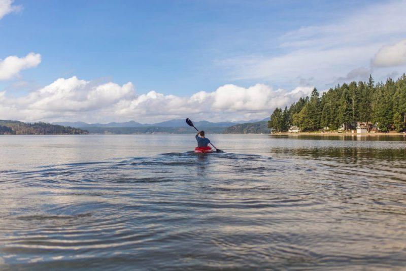 Only tackle difficult water if you feel ready – kayaking is about having fun at the level that's right for you