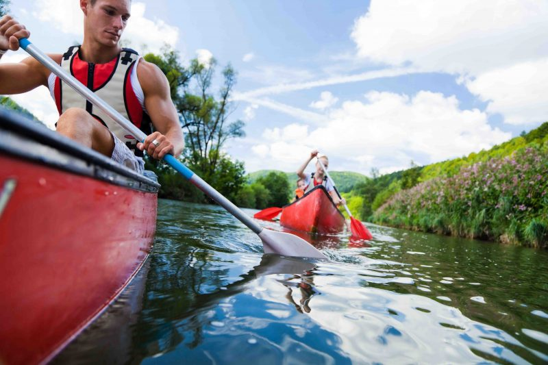 A kayak instructor will help you pick the right size boat