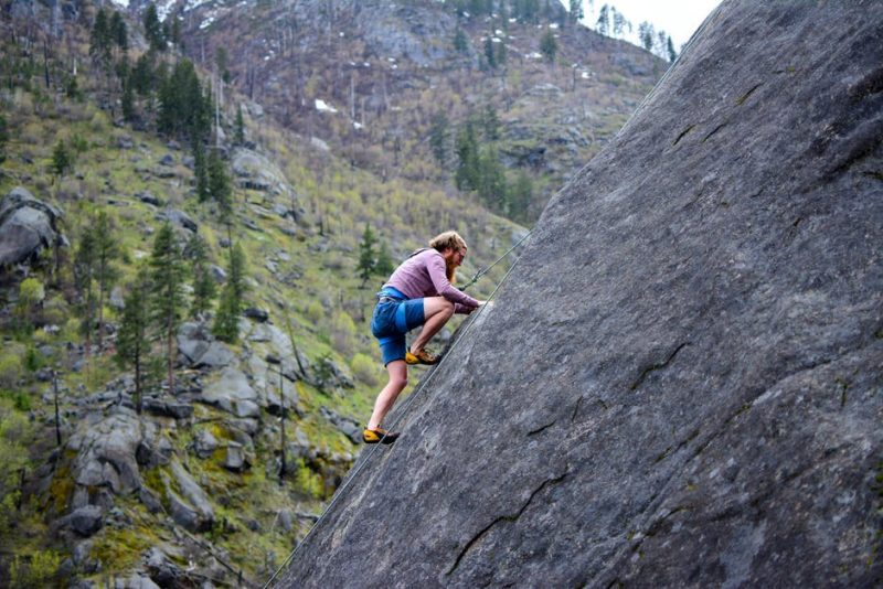 Conquering that rock face takes mental as well as physical strength