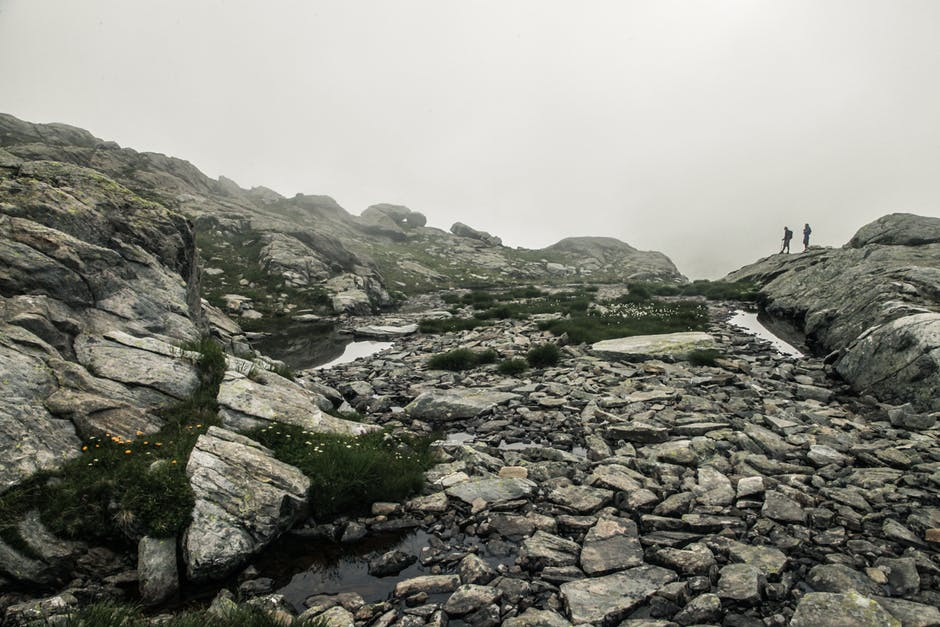 Rocky mountain terrain
