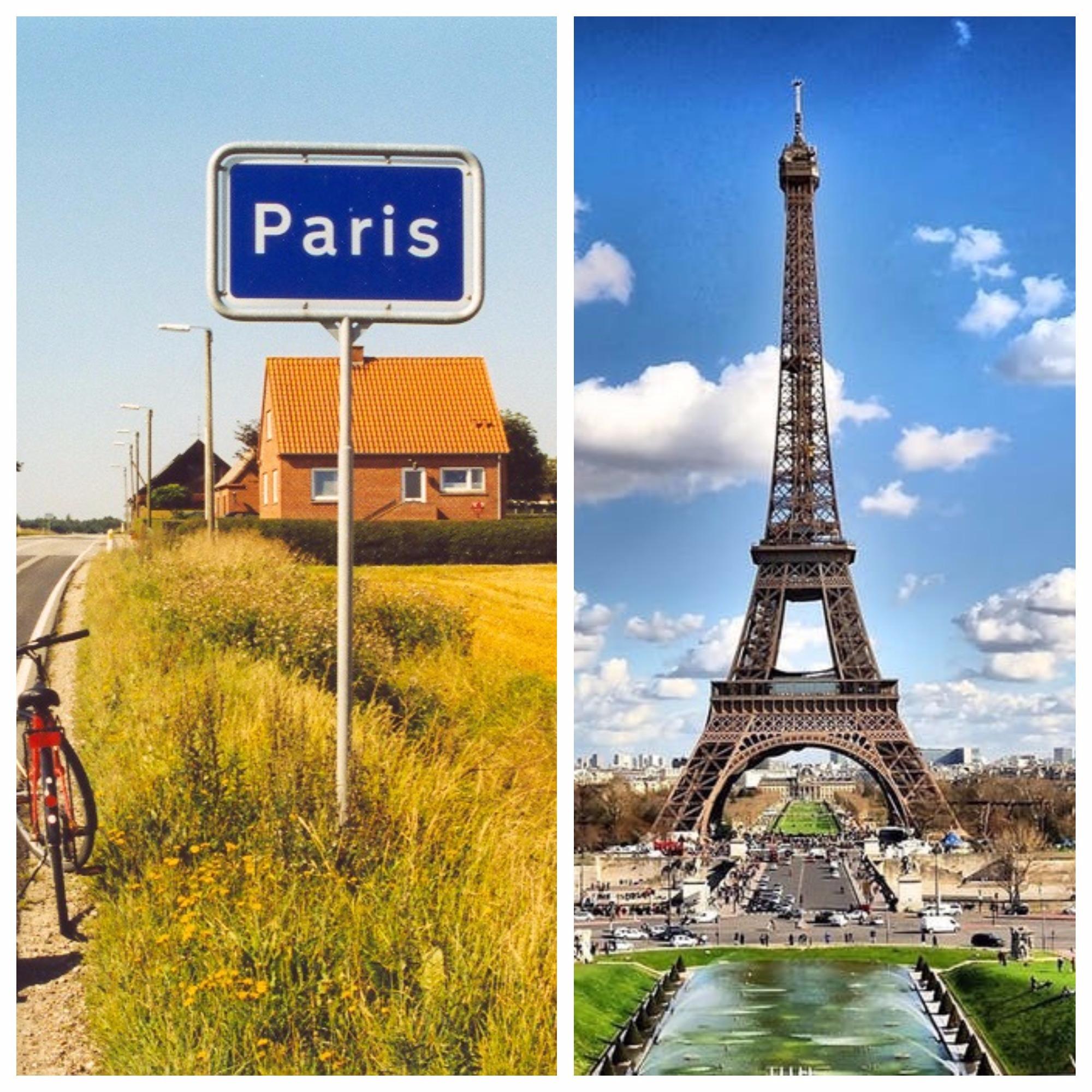 Paris around the world