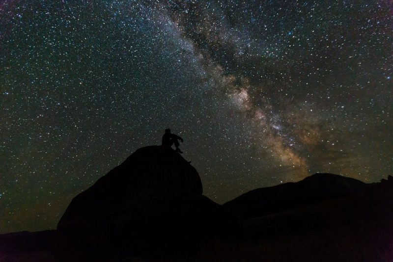 For big night skies there is no better place than Death Valley National Park in California.