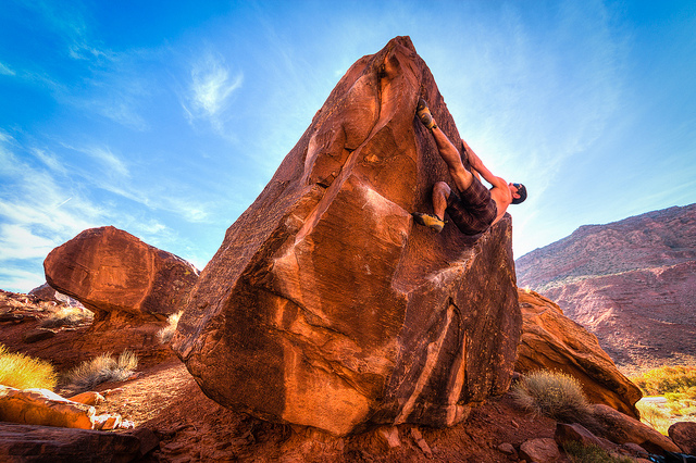 Climber Dude - Author: Pierce Martin - CC BY 2.0