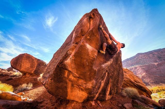 Climber Dude - Author: Pierce Martin - CC BY 2.0