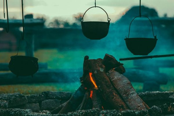 Forgot your camp stove and propane tank? Make a fire of dry twigs and wood, and cook a hearty meal the survivor's way. Your food may just turn out to be yummier, while giving you an experience you'll never forget.