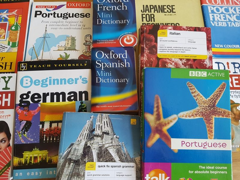learn how to speak Spanish dictionary books