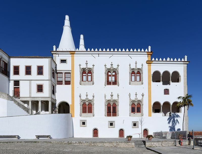 Palacio Sintra – Author: Alvesgaspar – CC BY-SA 4.0