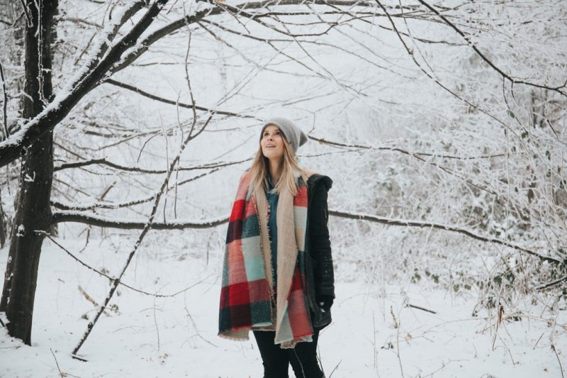 Dress appropriately for the season – that means getting out all your winter clothes from storage