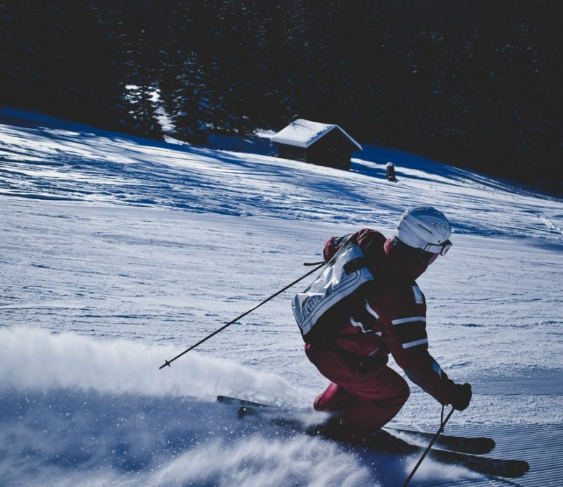 Regular practicing is the best way to learn to ski