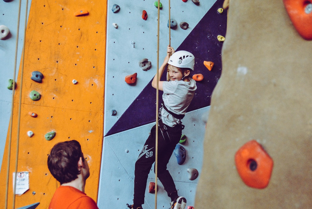 The Story of Rock Climbing for Kids