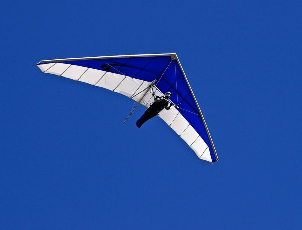 Is it a bird? A plane? No – it's a human in a hang glider! Be at one with the birds with this sport as you get an eagle's eye view of the Earth below.