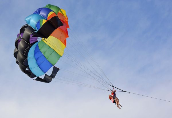 Get a different perspective on things with parascending.