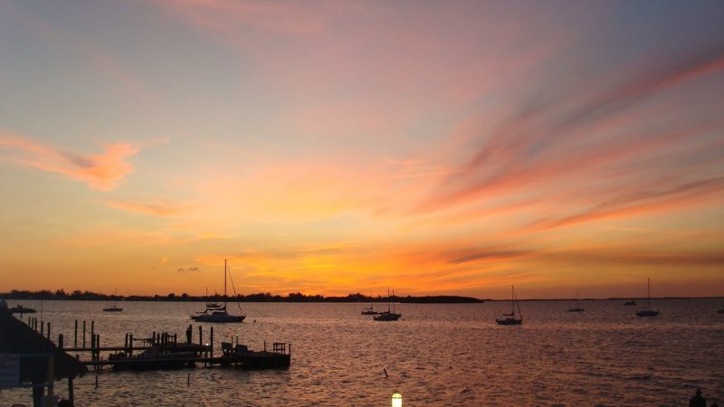 Sunset at Key Largo