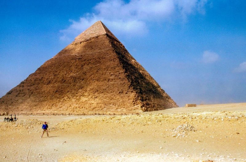 Your kids might go see the great pyramids before you do. At least, virtually.