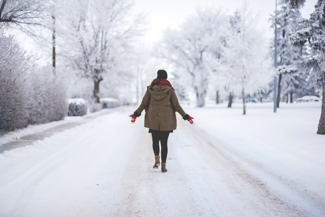 Helpful tips for walking on snow and ice