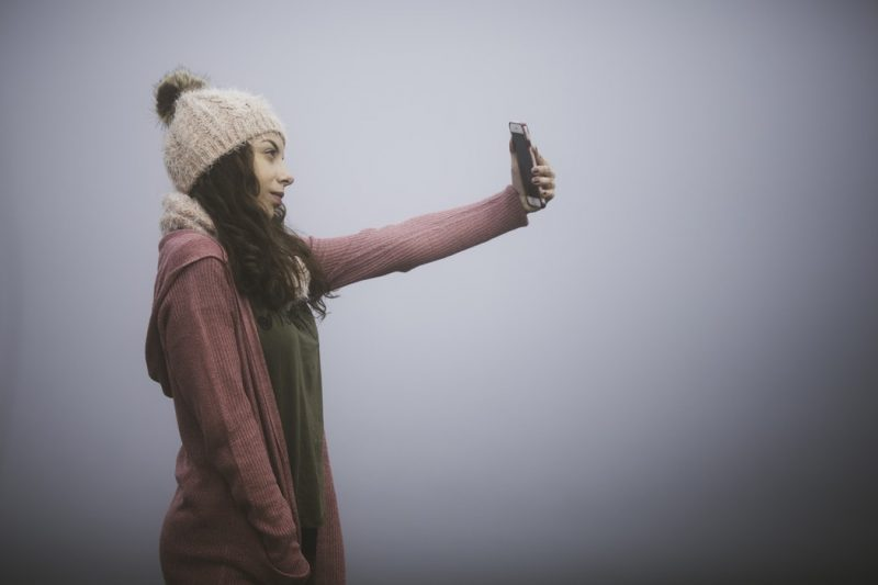 Be original with your poses – taking run-of-the-mill selfies gets a little tedious to see on social media – but an original selfie will have tongues wagging and many thumbs up.