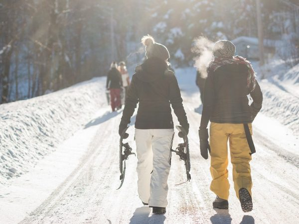 Seeing where you live in a whole new light, snow shoeing allows you to explore uncharted winter territories without the hassle of struggling trying to walk in the snow.