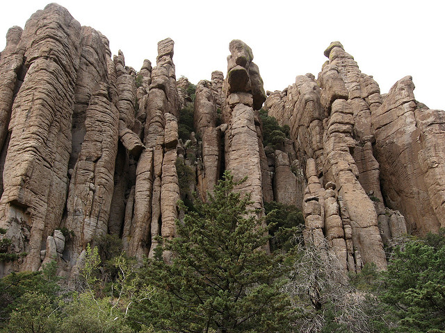 Organ Pipe Formation, Chiricahua National Monument, Arizona – Author: Ken Lund – CC BY-SA 2.0