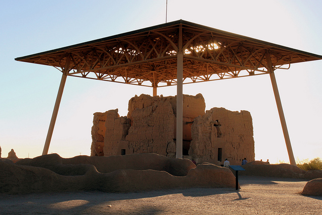Casa Grande Ruins (The Big House) – Author: midiman – CC BY 2.0