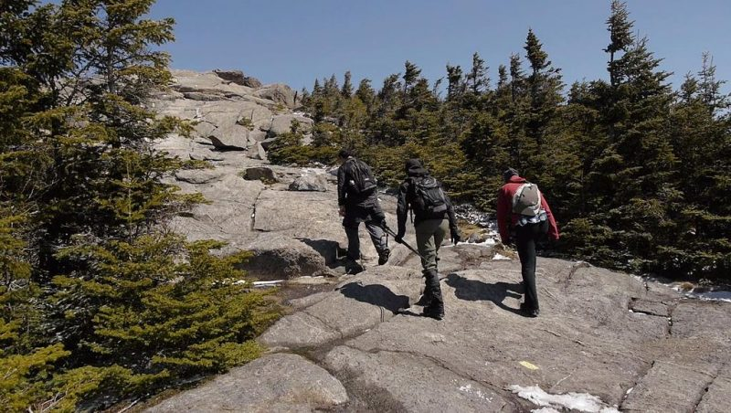 Cascade Mountain ascent, approaching the top – Author: Laurent Gélinas – CC BY-SA 3.0