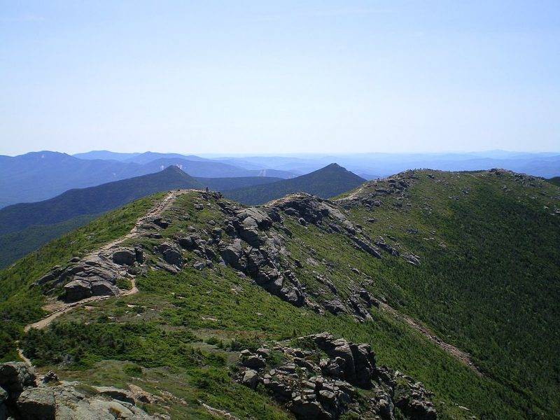 The Franconia Ridge, a section of the Appalachian Trail – Author: Paulbalegend – CC BY-SA 3.0