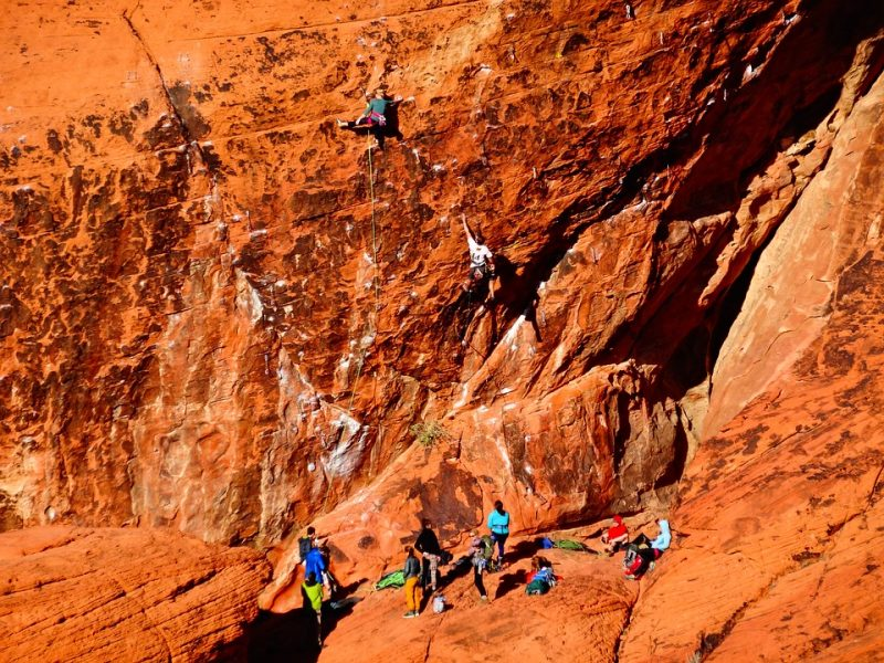 Red Rock has it all, from day crags like this one, to mega multi-pitch routes.
