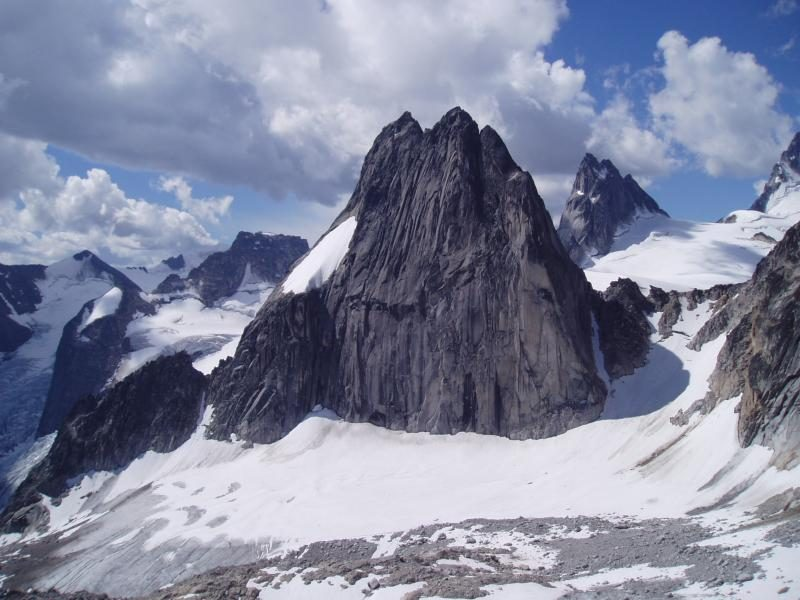 The Bugaboos are some of the most impressive granite spires on the planet.