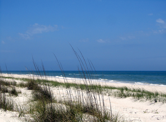 Beach at St. George Island State Park – Author: Rachel Kramer – CC BY 2.0