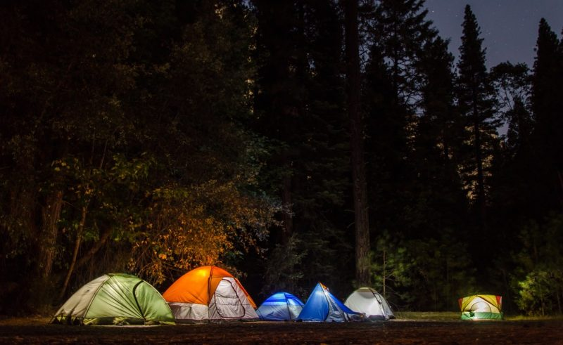 Camping in Yosemite is crowded and highly regulated.