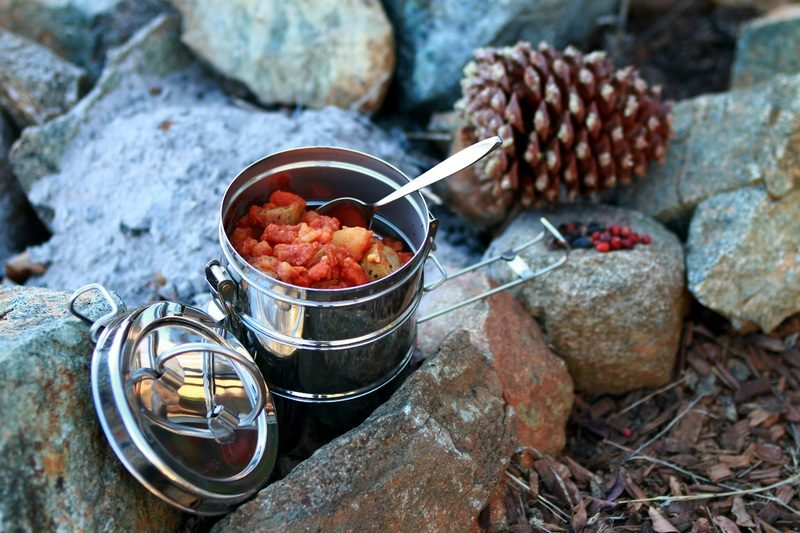 Stackable cookware makes the most of all your fuel.