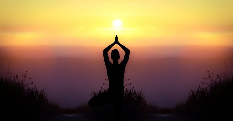 Sun salutations are often practiced at sunrise or sunset.