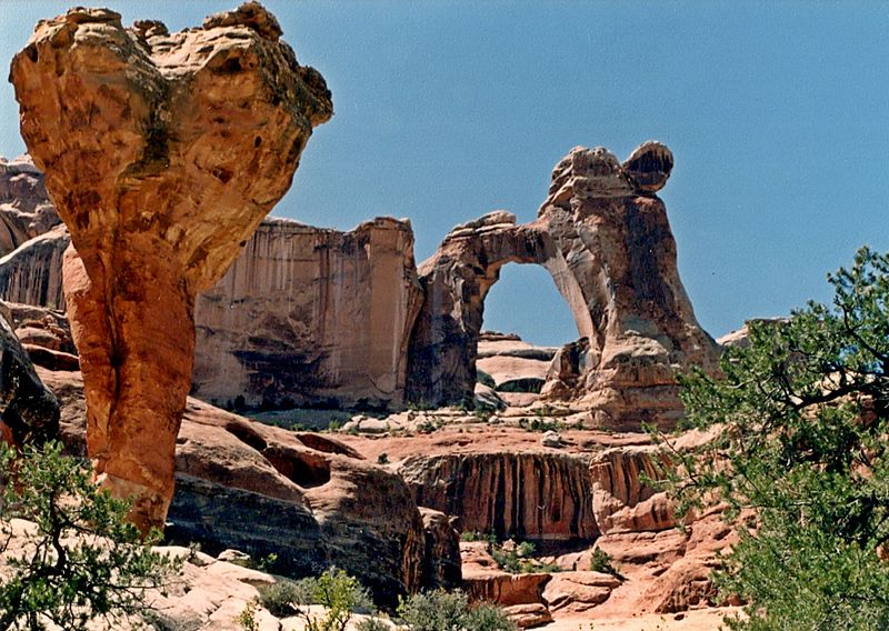 The Molar and Angel Arch - Author: Ron Clausen - CC BY-SA 4.0