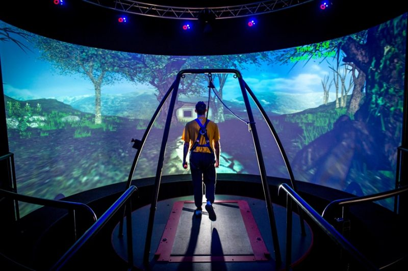 VR arcades are already opening up.
