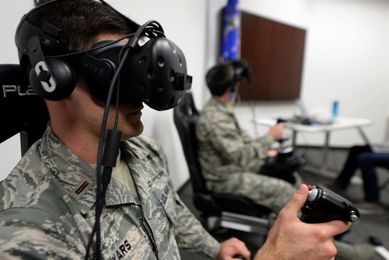 The military has played a big role in the development of VR technology.