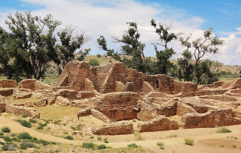 The central room block of Aztec Ruins National Monument – Author: Rationalobserver – CC BY-SA 4.0