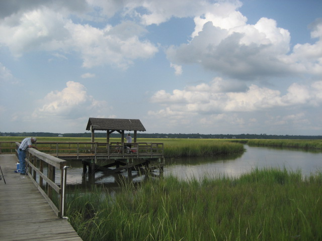 The marshes of James Island, SC – Author: Lee Keadle – CC-BY 1.0