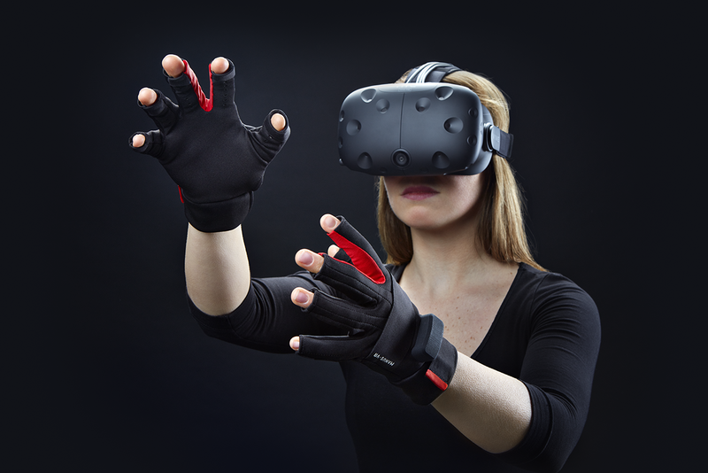 With haptic gloves you will actually be able to 'touch' the virtual world.