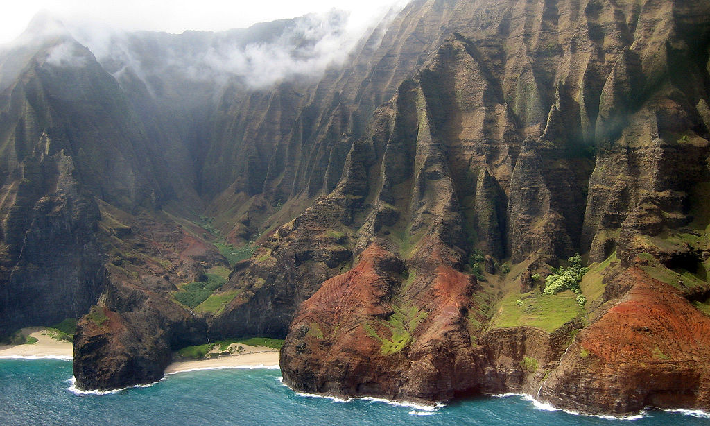 Na Pali- Author: Justforasecond - CC BY 2.5